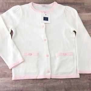 NWT 3T Janie & Jack Pink cardigan sweater